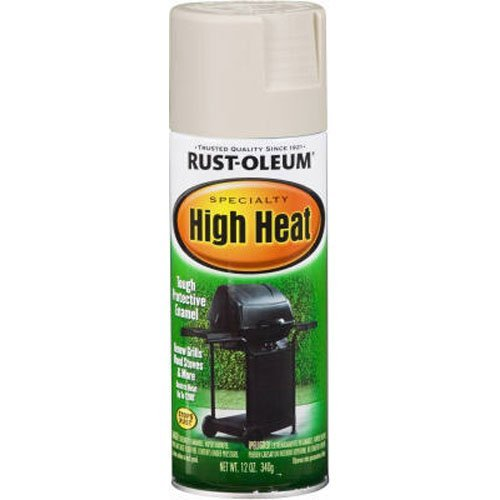 Rust-Oleum 7751830 High Heat Enamel Spray, White, 12-Ounce (Radiator Spray Paint compare prices)