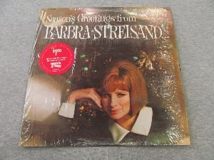 Seasons Greetings From Barbra Streisand and Friends a Columbia Special Products Issue