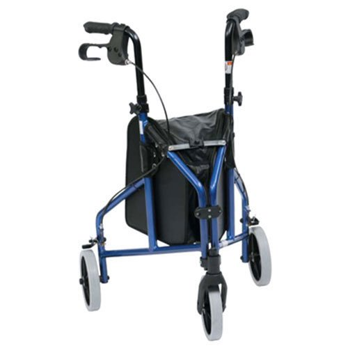 drive-medical-tw008b-ultralight-aluminium-blue-tri-walker-with-vinyl-bag