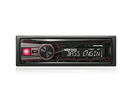 Alpine-CDE-192R-CD-MP3-WMA-AAC-Front-USB-AUX-IN-iPod-Autoradio