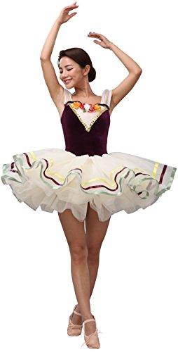 Women's 6 layers tulle Ballet Dance
