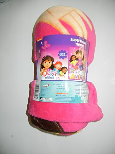 Nickelodeon Dora And Friends Super Plush Throw - 1