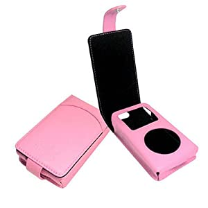 Noreve Tradition Leather Case for iPod Photo 40 & 60 Gb - Pink
