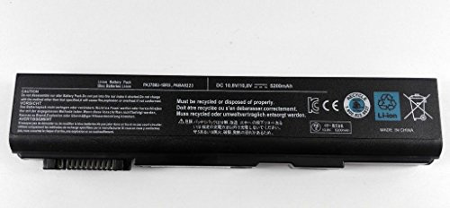 BPXbatterie d'ordinateur portable 55WH / 6Cell PA3788U-1BRS Battery for Toshiba PA3788U PABAS223 Satellite Pro S500 Tecra A11 M11 S11 S11-173
