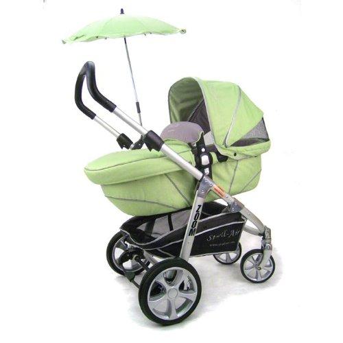Stroll-Air Zoom Stroller, Green