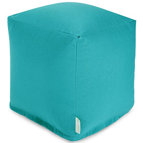 Majestic Home Goods Small Cube Teal Furniture Outdoor