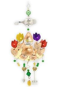 Pilgrim Imports Garden Gnome Metal Fair Trade Ornament