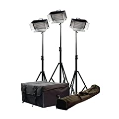 iKan Corporation 3 Light Kit Black, (ID500-Kit)