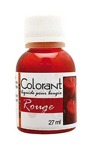 3471051513080 colorant liquide pour bougie 27 ml rouge dtm - Colorant Bougie