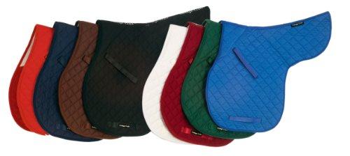 Satteldecke für Pferde, Deluxe Cotton, Dressur,