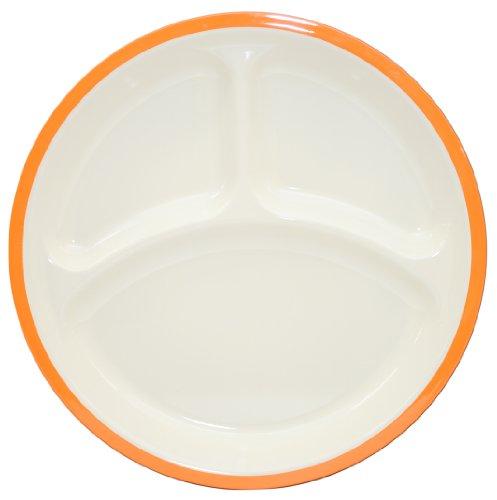 Takenaka 12-2211-22 Divided Plate, Orange