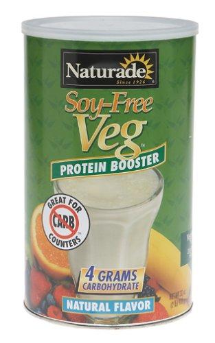 Naturade Soy Protein-Booster gratuit Veg, arôme naturel, 32 onces
