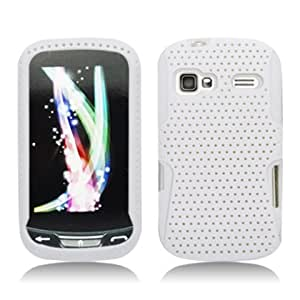 Aimo Wireless LGLM272PCPA018 Hybrid Armor Cheeze Case for LG Rumor Reflex/Freedom/Converse/Expression C395 - Retail Packaging - White