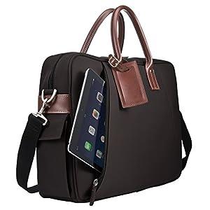 サンワダイレクト ビジネスバッグ 15.6型対応 ブラウン 200-BAG080BR