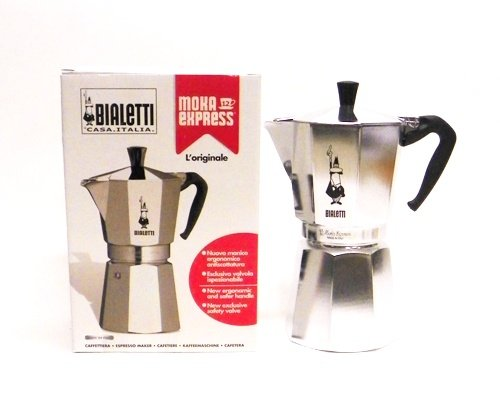 Sale!! Bialetti Moka Express 12-Cup Stovetop Espresso Maker