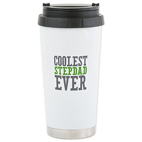 Cafepress Coolest Stepdad Ceramic Travel Mug - Standard Multi-Color