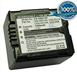 Battery for Panasonic VDR-D250EG-S VDR-D258GK VDR-D300 VDR-D300EB-S 7.4V 1440mAh