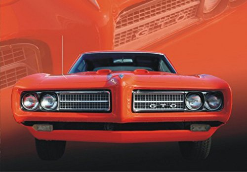 voitures-de-collection-papier-peint-photo-poster-pontiac-gto-rouge-4-parties-360-x-255-cm