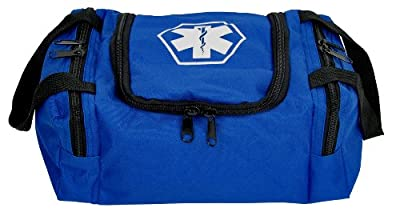 Dixie EMS Dixigear Empty First Responder II Bag, Blue by Dixie Ems