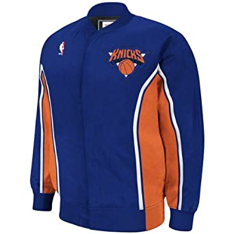 New York Knicks Mitchell & Ness Authentic Warm up Jacket by Mitchell & Ness
