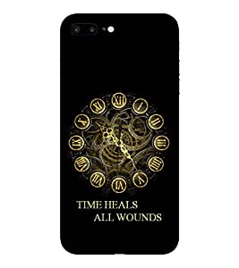 Evaluze time quotes Printed Back Cover for APPLE IPHONE 7 PLUS