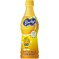 バヤリースオレンジ 450ml×24本