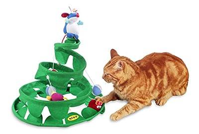 Cleo Springy Tree Cat Toy