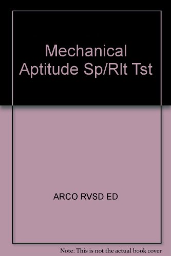 Mechanical Aptitude Sp/Rlt Tst (Arco Mechanical Aptitude & Spatial Relations Tests)
