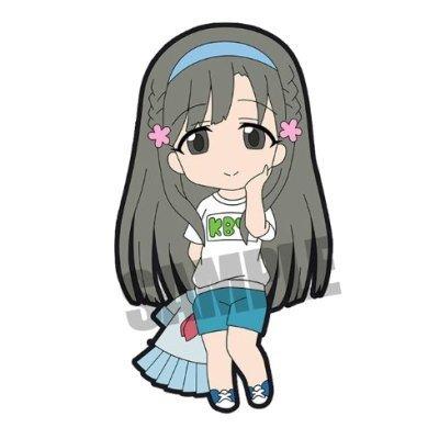 アイドルマスター シンデレラガールズ トレーディングラバーストラップ vol.3 [7.小早川紗枝](単品)