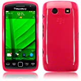 Blackberry Torch 9860 Gel Skin Case / Cover - Hot Pink PART OF THE QUBITS ACCESSORIES RANGEby TERRAPIN