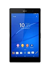 Sony Xperia Z3 8-inch Tablet (Black) - (Qualcomm 2.5GHz, 16GB RAM, 3GB Memory, Android 4.4 Kitkat)
