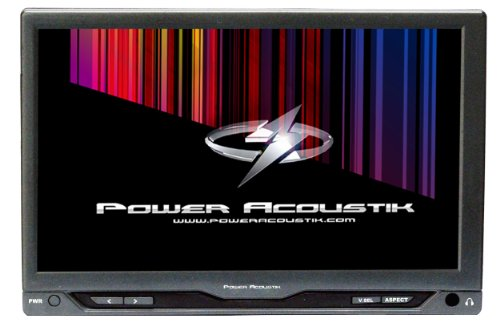 Power Acoustik PT-712IR TFT-LCD Digital LED Backlit 7