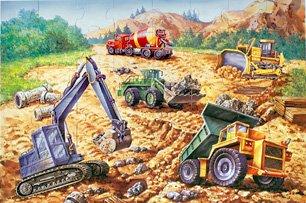 Cheap Fun Construction Floor Puzzle (B004M5FF3G)