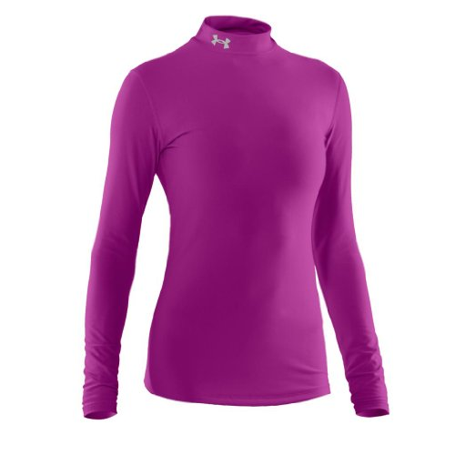 Under Armour 2013 Women's ColdGear Compression Mock - Strobe - S