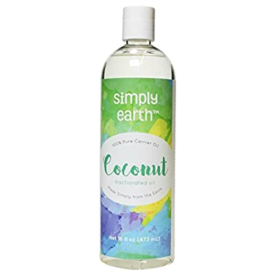 Simply Earth's 100% Pure Fractionated Coconut Oil