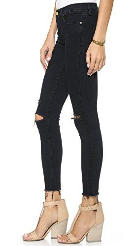 J Brand Jeans Women's 8227 Ankle Mid Rise Skinny Jean, Blue Mercy, 26