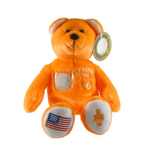 Tennessee State Quarter Bear Collectible Stuffed Bear