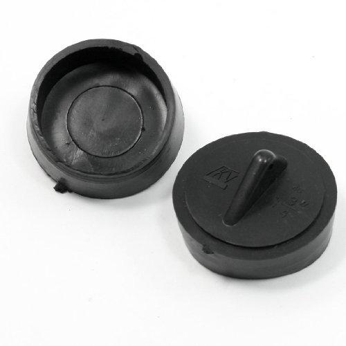1-3-4-dia-kitchen-triangular-knob-black-rubber-sink-disposal-stopper-plug-2-pcs