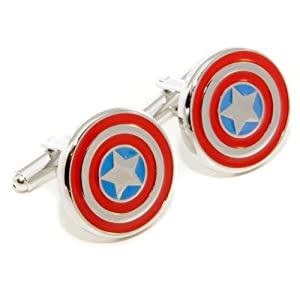 Captain America Cufflinks w/ Box
