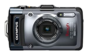Olympus Tough TG-1 Rugged Digital Compact Camera - Silver (12MP, 4x Wide Optical Zoom) 3.0 inch OLED