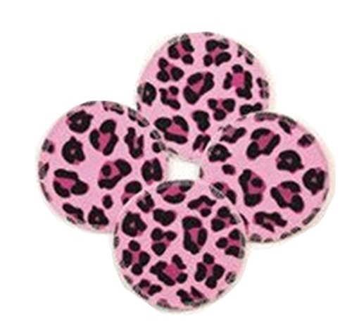 Breast Pads Brand Nursing Bra Pads Cheetah 4 Pack (2 Pair) - 1