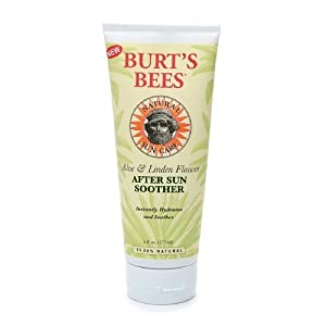 Burt's Bees After Sun Soother, Aloe and Linden Flower 6 fl oz (177 ml)