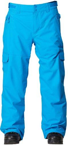 Quiksilver Portland Snowboard Pants Brilliant Blue Mens Sz XXL