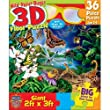 MASTERPIECES 36 PC WILD ABOUT BUGS 3D FLOOR PUZZLE
