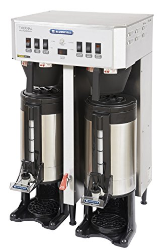 Bloomfield 8790-TF Automatic Thermal Coffee Brewer, Dual, In-Line, 18