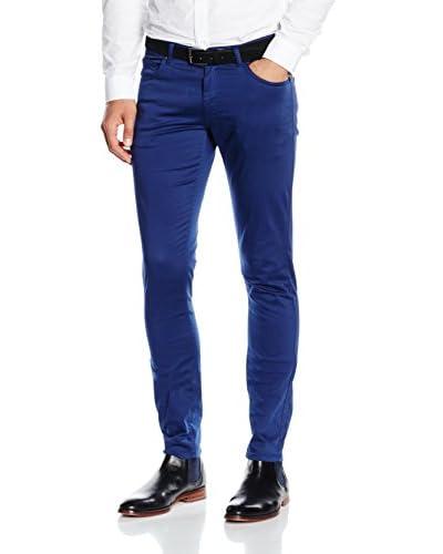 Versace Pantalón Azul