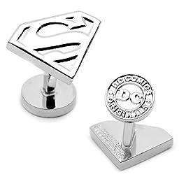 Cufflinks, Inc. DC Comics Superman Shield Cufflinks - Silver