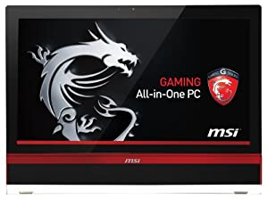"MSI AG2712A-027EU Ordinateur Tout-en-Un 27"" (68,58 cm) Intel Core i7 3630QM 2,4 GHz 1 To 8192 Mo HD 8970 Noir"