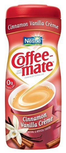 Coffee-mate Cinnamon Vanilla Powdered Coffee Creamer, 15-Ounce Packages (Pack of 6)
