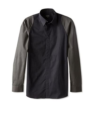 Jil Sander Men's Dama Hidden Placket Sport Shirt